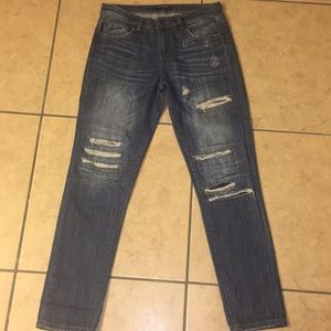 Boyfriend jeans. Size 26 (2). Great condition.